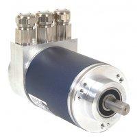 MHM5 Absolute Multi-Turn Optical Encoder - Solid Shaft