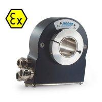 PHU9 Absolute Multi-Turn Optical Encoder - Hollow Shaft