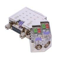VIPA EasyConn PROFIBUS Plug with diagnose LEDs - 45°